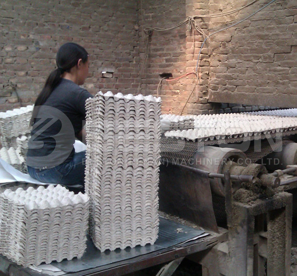 Brick Egg Tray Drying System
