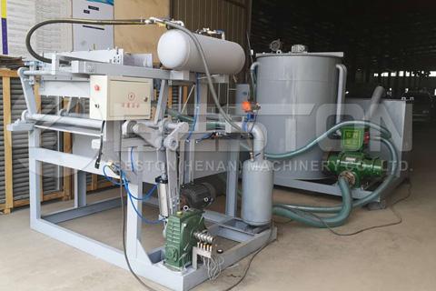 Fuite Tray Manufacturing Machine to Algeria