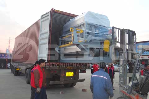 Paper Fruit Tray Making Machine Shipped to Egypt