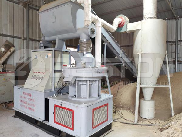 Beston le proporciona un costo razonable de la máquina de pellets industriales