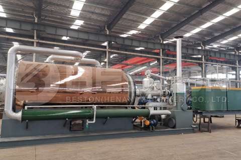 Skid-Mounted Pyrolysis Plant