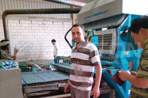 apple tray making machine in saudi arabia