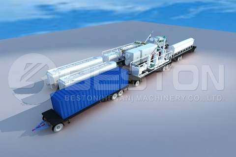 containerised pyrolysis plant