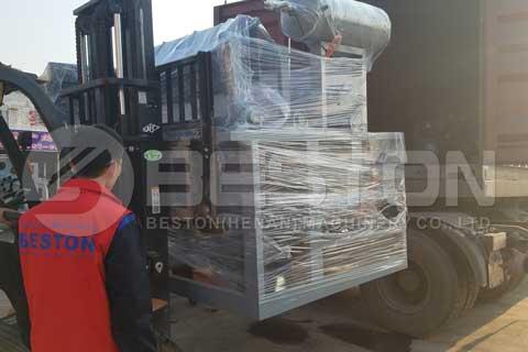 fruit tray machine shipped to Tanzania