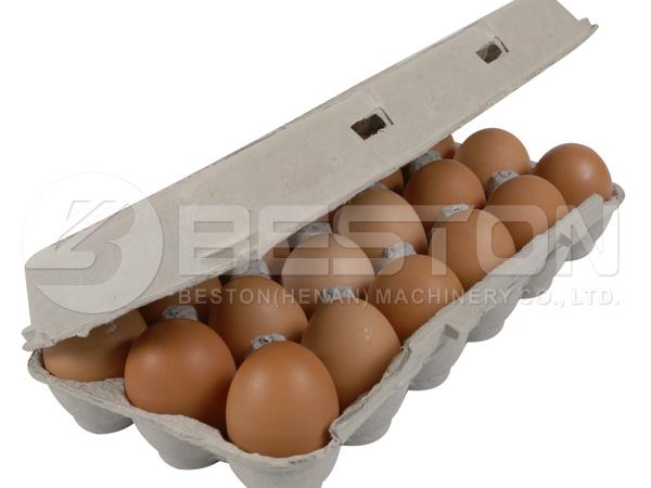 18 яиц в ящике
