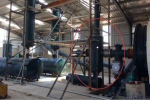 Tanque de aceite de lodo y colector