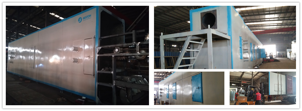 Metal Egg Tray Drying System