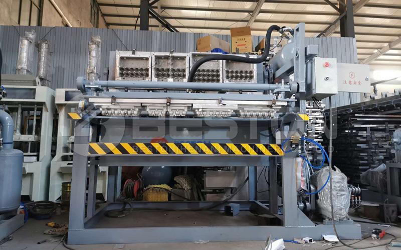 Máquina de fabricación de bandejas de huevos