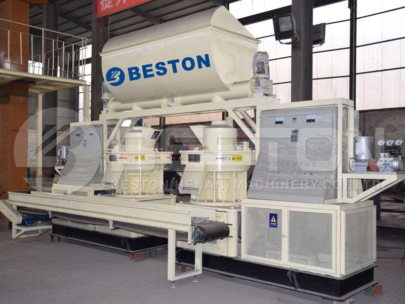 wood pellet manufacturing equipment