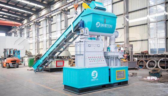 Máquina de fabricación de pellets de biomasa para la venta