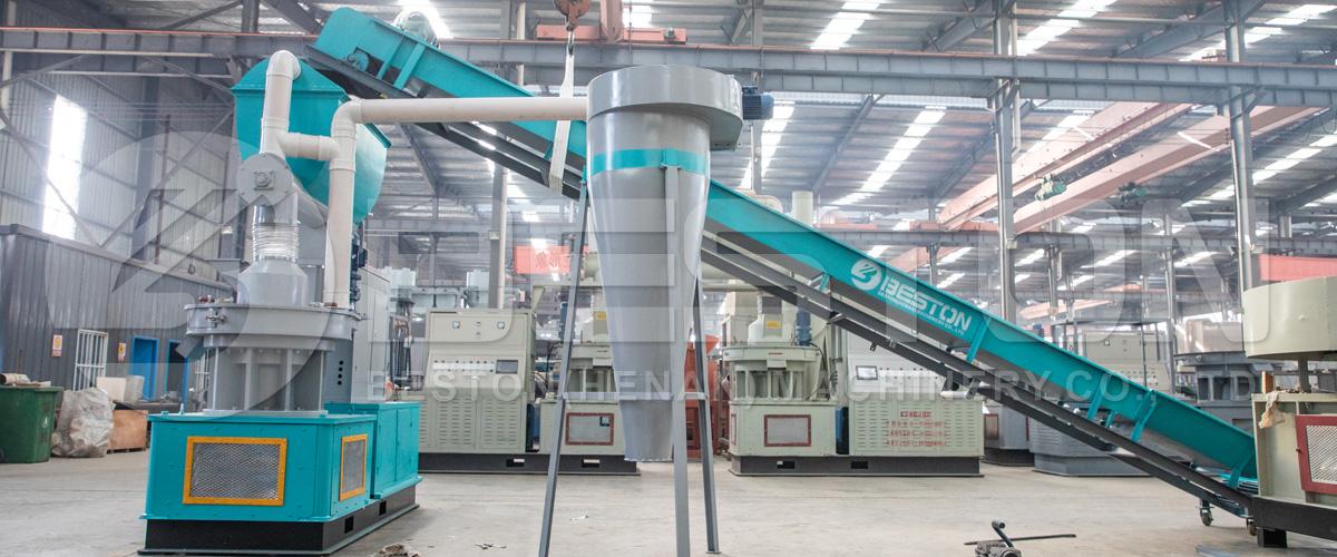 Pellet Making Machine Banner