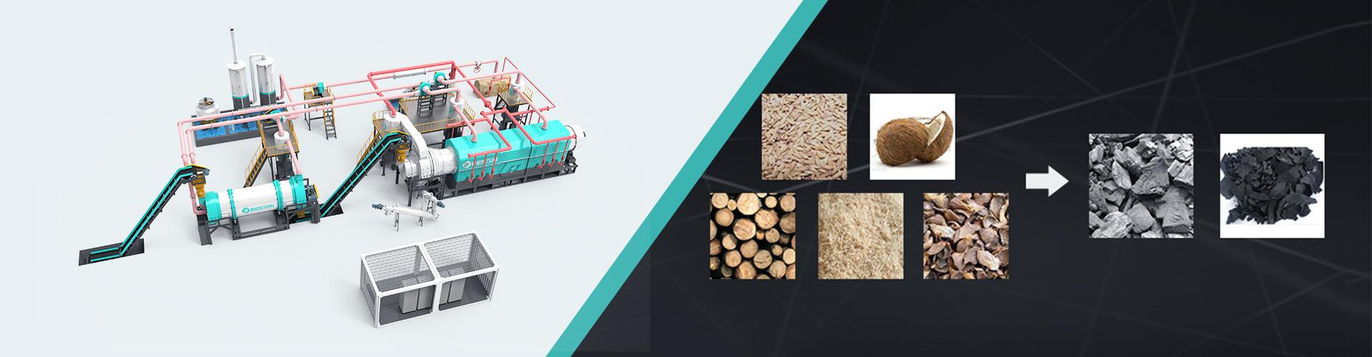Баннер для производства древесного угля