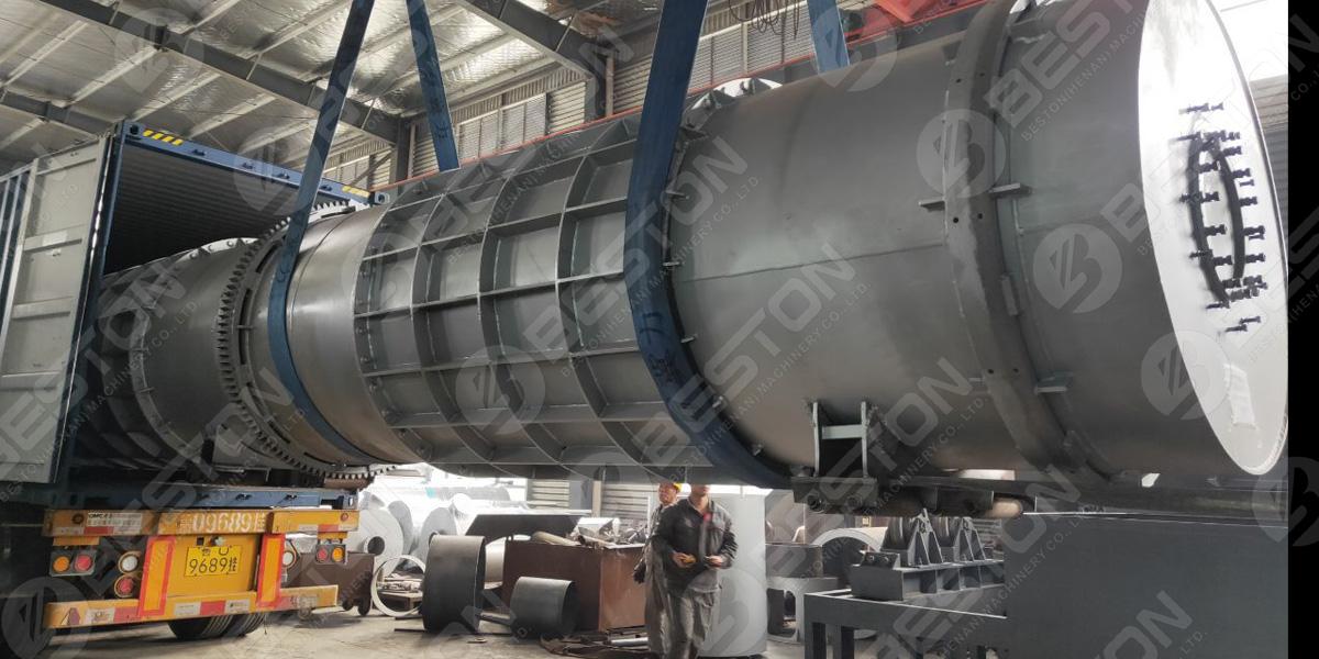 Машина для производства древесного угля для барбекю отправлена в Малайзию