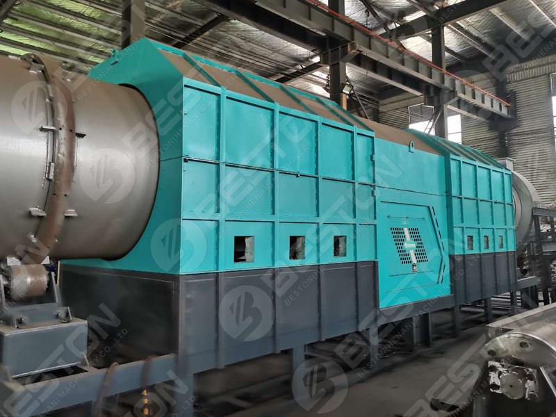 завод по производству древесного угля