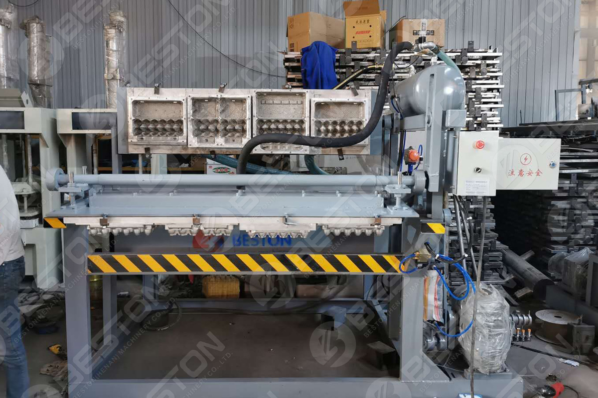 1200-1500 PCS/H Egg Carton Machine in Botswana