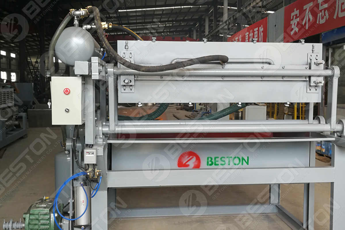 1200-1500 PCS/H Egg Tray Machine in Spain