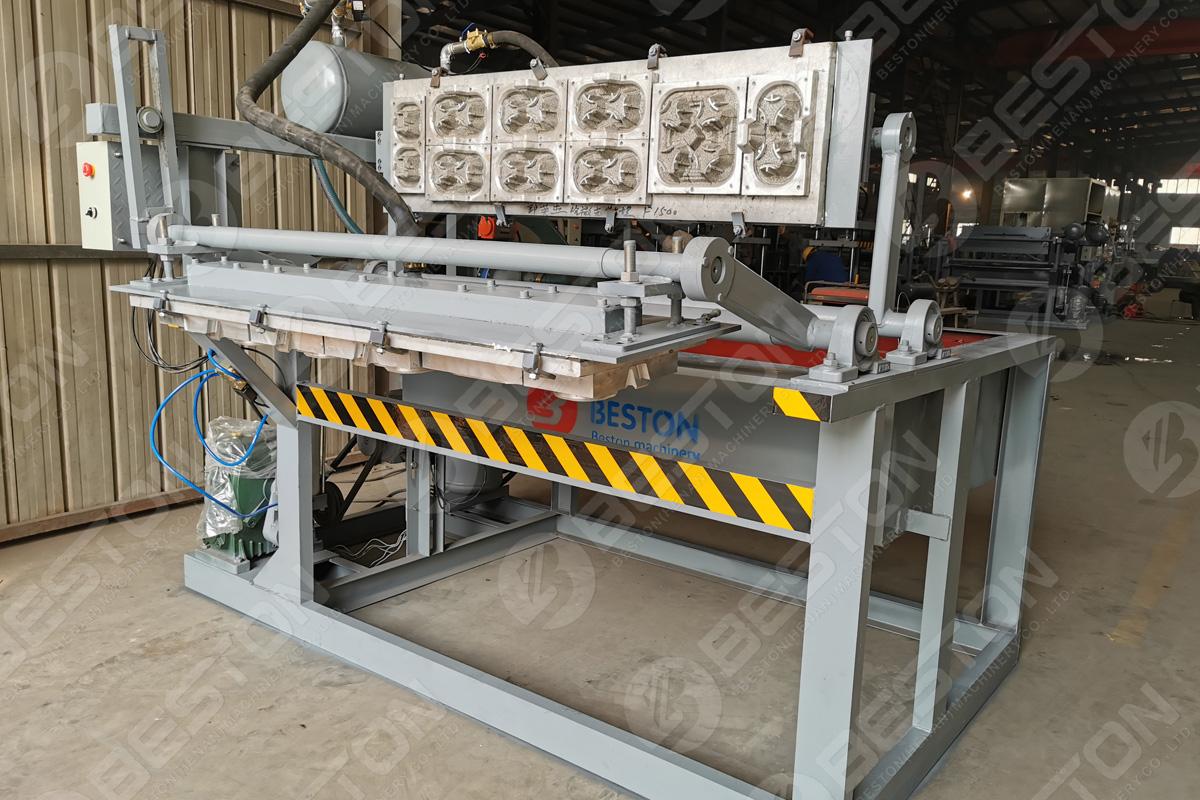 Машина для производства подносов для кофейных чашек 1200-1500 ПК / ч в Казахстане