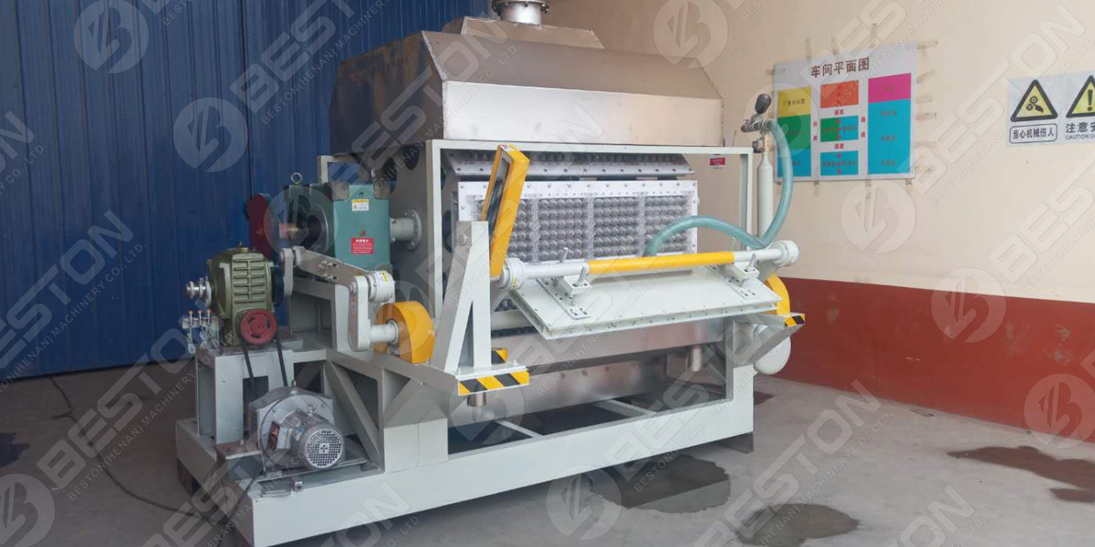 3500-4500 pieces Egg Tray Machine Shipped to Pakistan