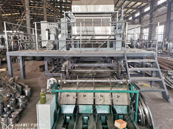 3500-4500 pieces Egg Tray Making Machine to Russia