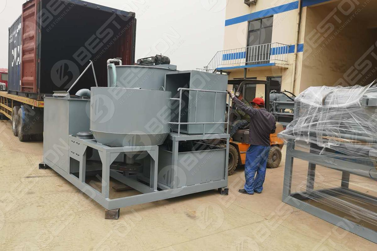 Bac à œufs BTF1-3 faisant la machine expédiée en Algérie