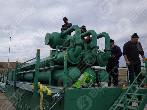 BLL-30 plastic pyrolysis plants in Romania