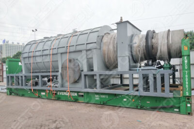 BST-30 Charcoal Making Machine Shipped to Malaysia