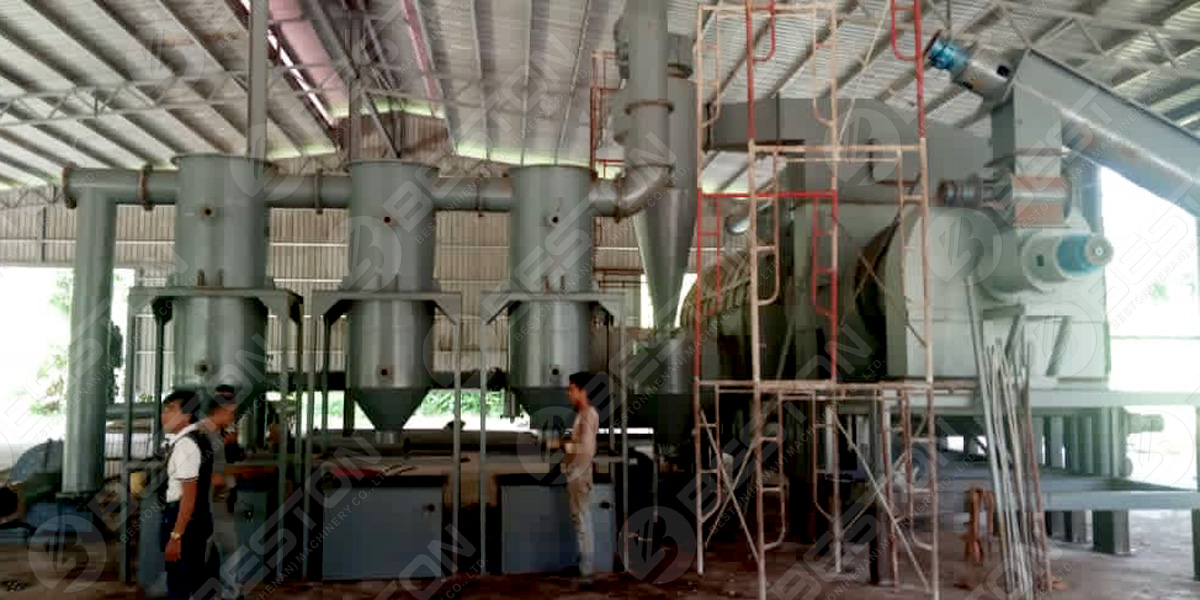 BST-30 Palm Shell Charcoal Machine in Malaysia