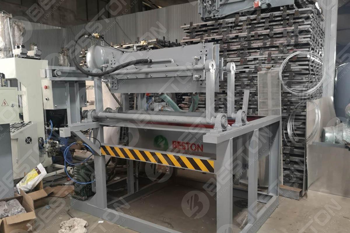 Bac à œufs BTF1-3 faisant la machine expédiée en Indonésie