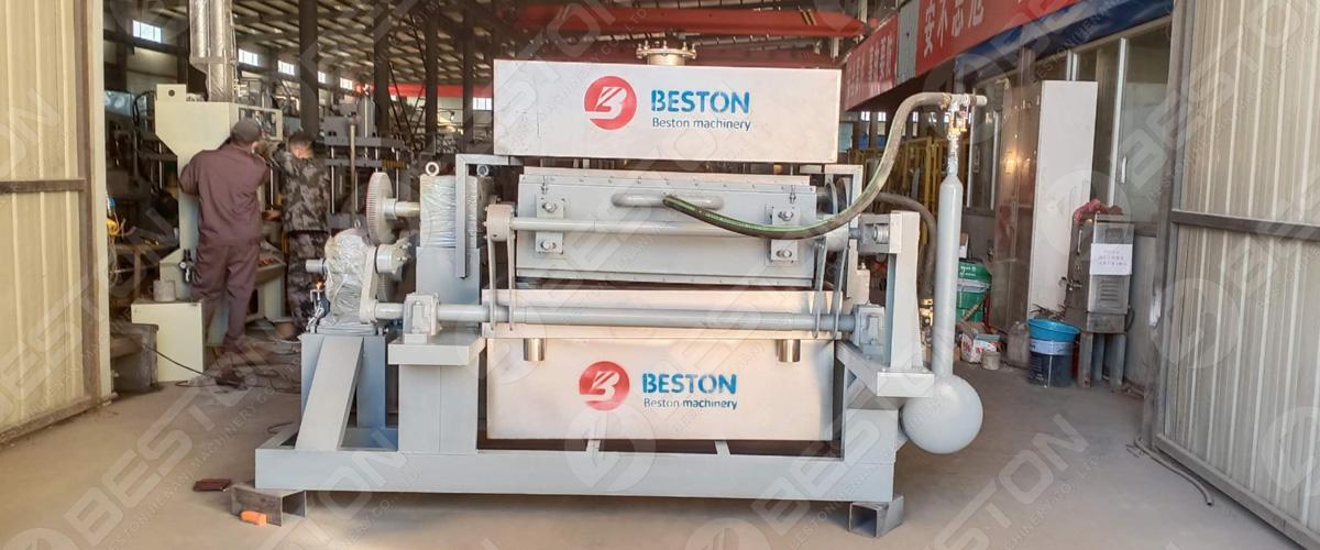 BTF3-4 Yumurta Tepsisi Fabrikası Botsvana'ya Sevk Edildi