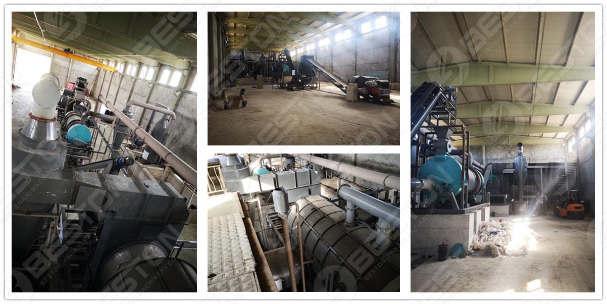 Charcoal Making Machine in Turkey