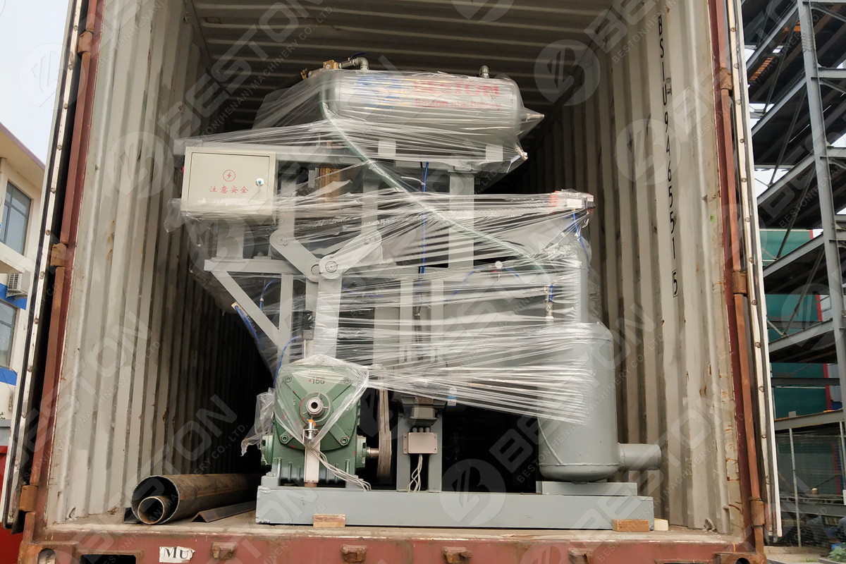 Egg Tary Machine Shipped to Colombia