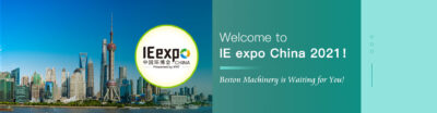 IE Expo Çin 2021