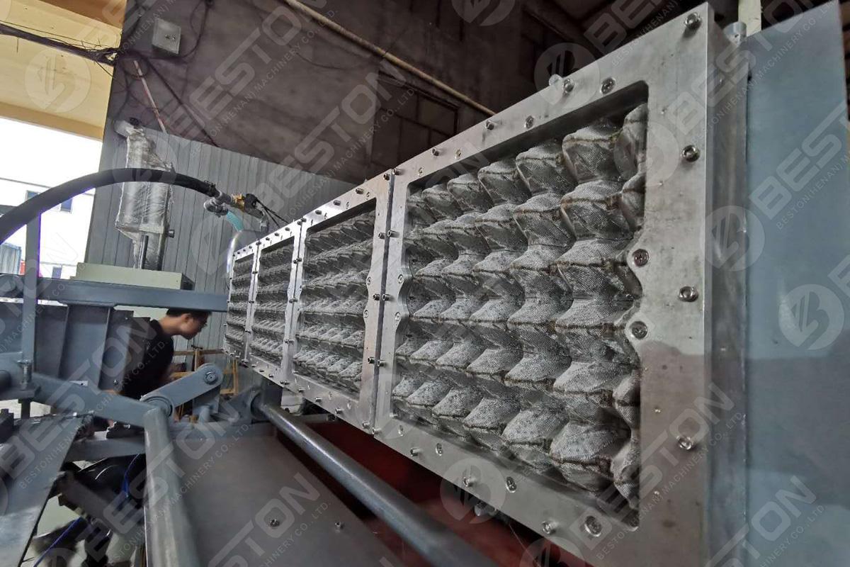 1500 Adet / Saat Yumurta Tepsisi Makinesi Kalıbı