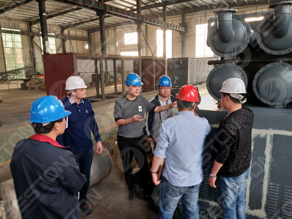 continuous waste plastic pyrolysis plants in Romania