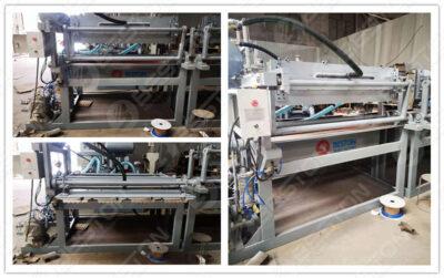 Bac à œufs BTF1-4 faisant la machine expédiée au Lesotho