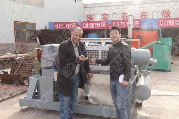 Beston Egg Tray Machine in Algeria