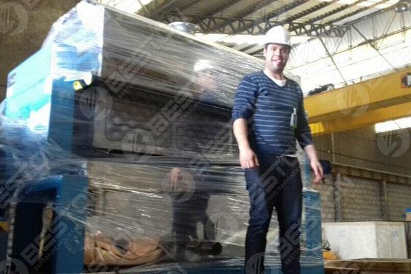 Beston Egg Tray Machine in Brazil