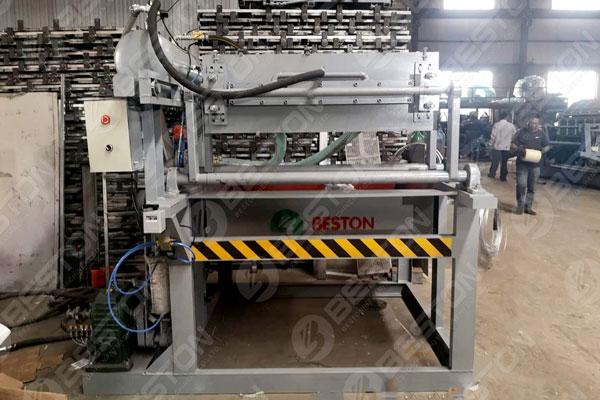 Beston Egg Tray Machine in Indonesia