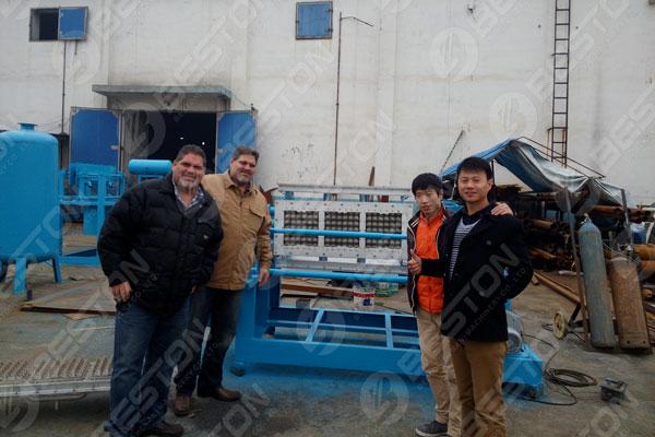 Beston Egg Tray Machinery in Mexico