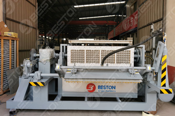 Beston Eggs Tray Machine in Peru