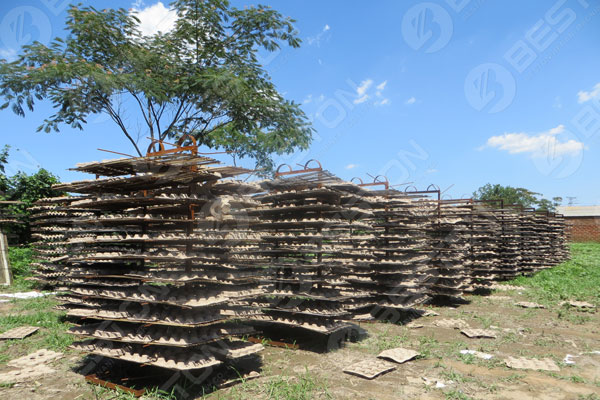Natural Drying in the Sun