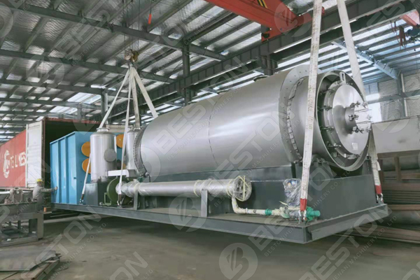 Skid-Mounted Pyrolysis Plant Shipped to the Philippines