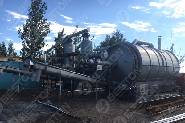 BLJ-16 Oil Sludge Pyrolysis Plant Installed in Inner Mongolia Autonomous Region
