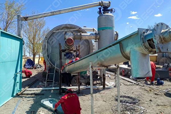 Beston Oil Sludge Pyrolysis Plant in Inner Mongolia Autonomous Region