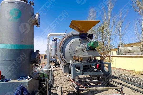 Beston Oil Sludge Pyrolysis Plant in Inner Mongolia