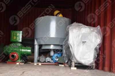 Machine de fabrication de plateaux à œufs expédiée en Irak