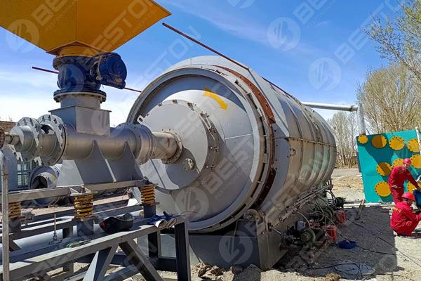 Oil Sludge Treatment Plant in Inner Mongolia
