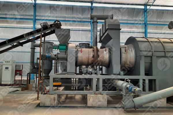 BST-20 Bamboo Charcoal Machine in India