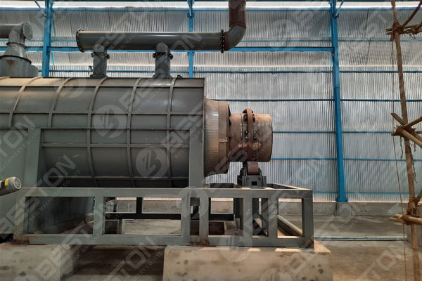 BST-20 Bamboo Charcoal Production Machine in India