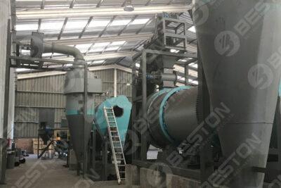 Beston Machines de fabrication de charbon de bois de sciure installées au Chili